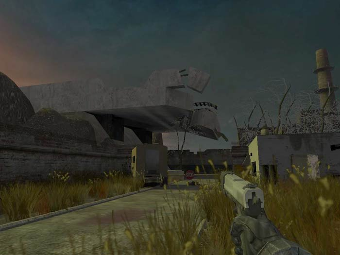 Resistance of Death - the first Russian Half-Life 2 beta mod