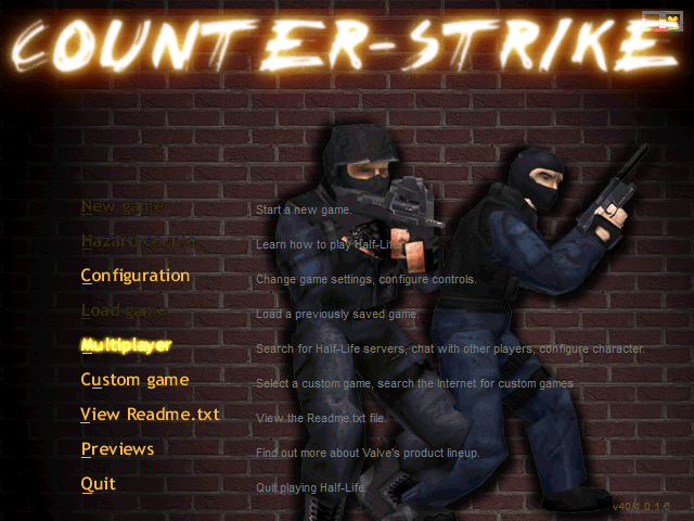 COUNTER STRIKE 3.0